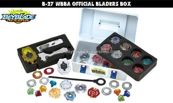 B-27 Beyblade Burst WBBA Official Blader's Box - Accessoire pour toupie Takara Tomy Shogakukan