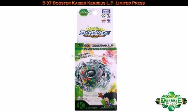 B-37 Toupie Beyblade Burst Booster Kaiser Kerbeus L.P. Limited Press - Jouet Takara Tomy