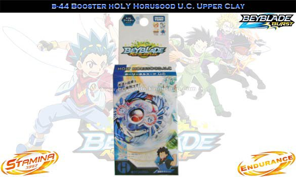 B-44 Toupie Beyblade Burst Booster Holy Horusood.U.C Upper Claw - Jouet Takara Tomy