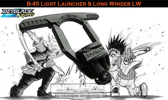 B-45 Beyblade Burst Light Launcher & Long Winder - Jouet Takara Tomy