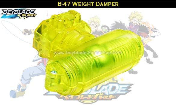 B-47 Beyblade Burst Weight Damper - Jouets et accessoires Takara Tomy