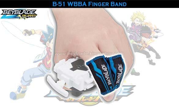 B-51 Beyblade Burst WBBA Finger Band - Accessoires et jouets Takara Tomy