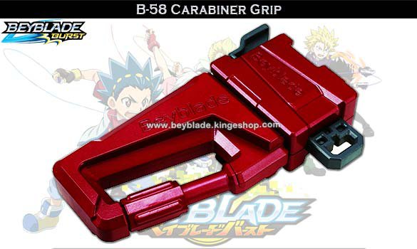 B-58 Beyblade Burst Carabiner Grip - Accessoires et jouets Takara Tomy