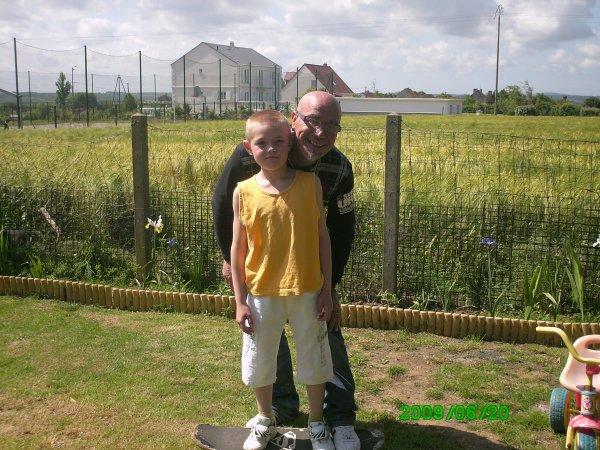 mon petit fils et moi