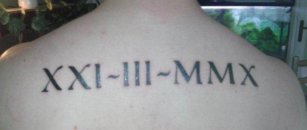 XXI - III - MMX
