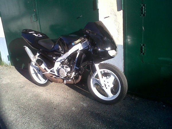 Mon Aprilia 50 RS De 98 Kit 86cc Peinture Refais :P