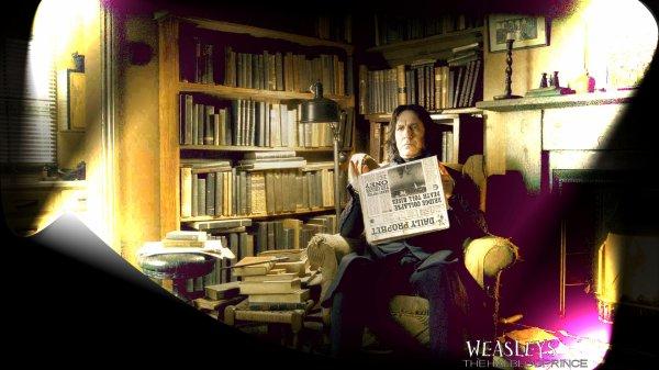 Petites nouveautés Severus Snape