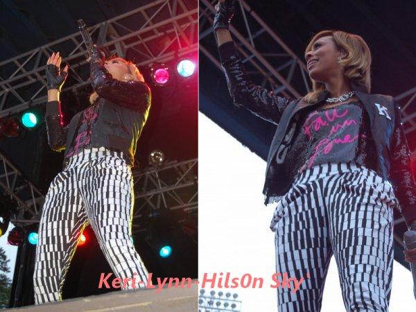 Keri Hilson au Concert Meet & Greet At Six Flags Great Adventure