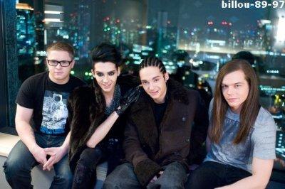 Les Tokio Hotel  dans un Hôtel à Tokyo