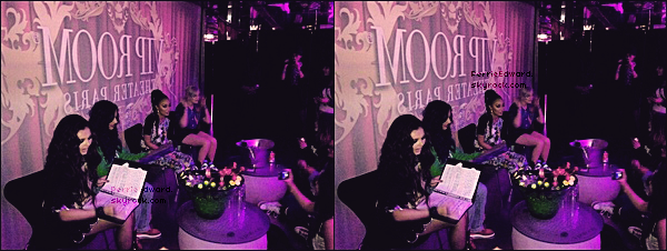 24.04.2013 - Les Little Mix étaient dans les studios NRJ avec Cauet.