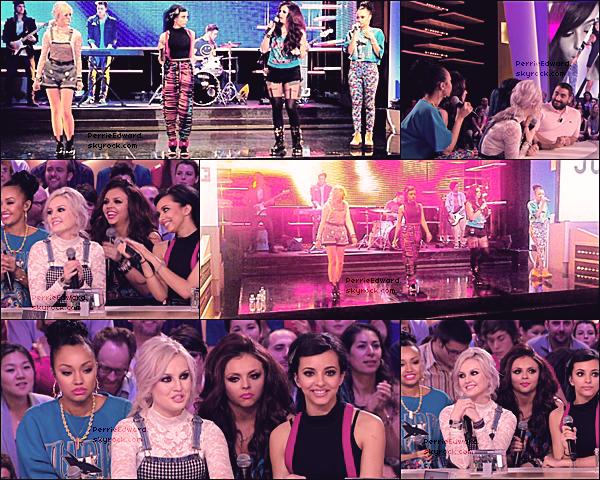 25.04.2013 - Les Little Mix étaient dans le Grand Journal sur Canal +.