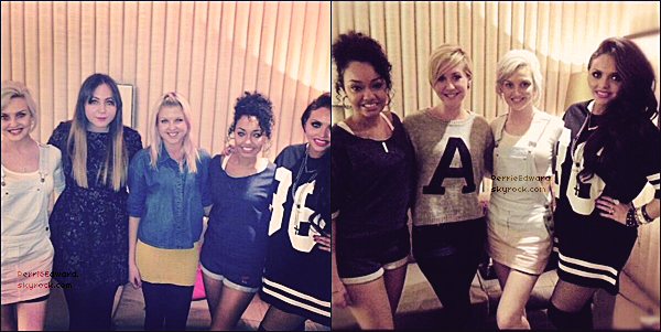 29.04.2013 - Perrie, Jesy et Leigh-Anne ont été interviewé par Sugarscape.