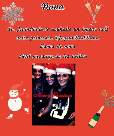 Joyeux Noel Anaïs