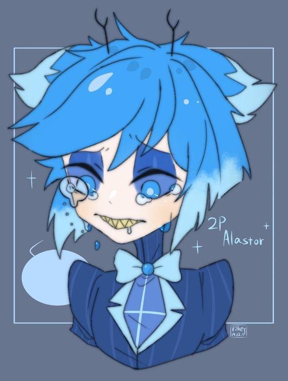 Petite présentation d'un cerf bleu
