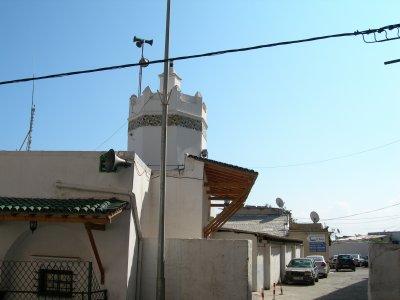 Eglise Ste Croix dans la haute Casbah devenue Mosquée des visiteurs