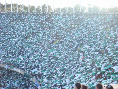Les Algériens << En Mode L'ouverture Des Drapeaux >>