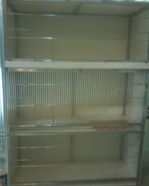fabrication de 3 nouvelles cages  d envol  en pvc