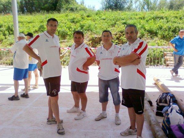 CHAMPIONNAT DE L'ARDECHE QUADRETTES 2012
