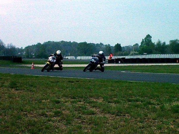 Mercredi c'est entrainement au Mans