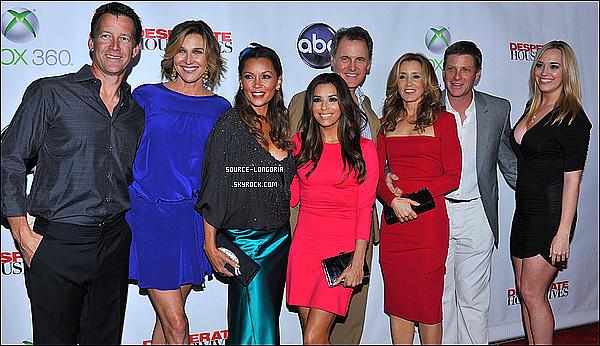 - 29/04/12  : Eva et ses co stars ont célébrer la fin de DH à l'hôtel W à Los Angeles ♥♥  -