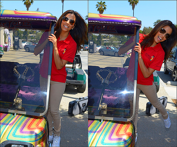 - 07/05/12: La belle s'est rendue à l'évenement « 5th Annual George Lopez Celebrity Golf Classic» en Californie ♥.