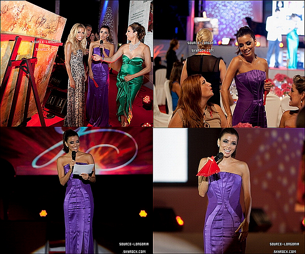 - 19/08/12 : La Belle à participer à  « Global Gift Gala » à Marbella , T'aime sa tenue?.♥   -