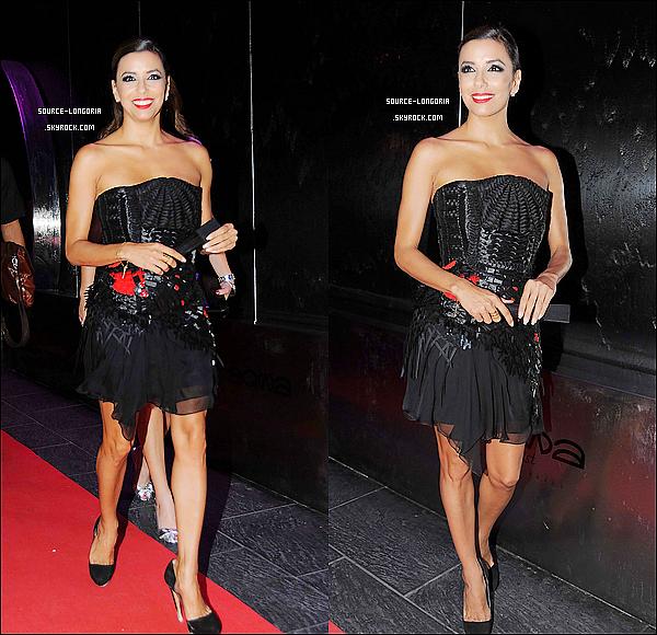 - 18/08/12 : Plus belle que jamais ,  Eva s'est rendue dans un club brancher à Marbella .  -