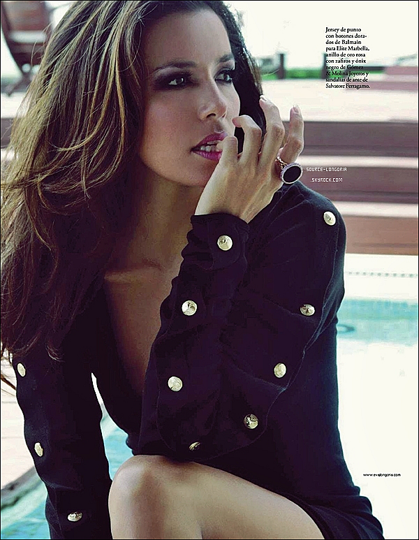 - Découvre un nouveau shoot de Eva Longoria posant pour le magasine ELLE espagnole , comment tu la trouve ? -