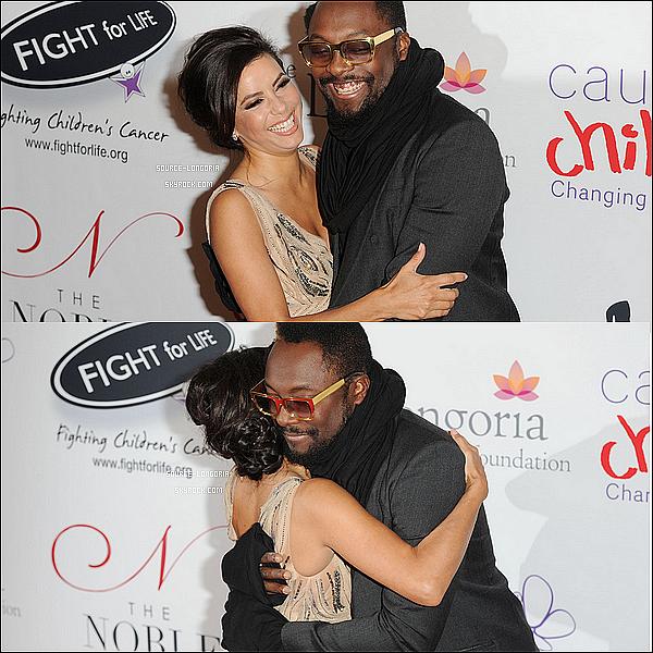 - 08/12/12 : Eva toute belle était Noble « Gift Gala gala de charité»  pour les enfants malades à Londres .  -