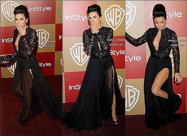 - 13/10/13: La belle Eva était à la 70ème cérémonie des Golden Globes à Berverly Hills,superbe hin  -