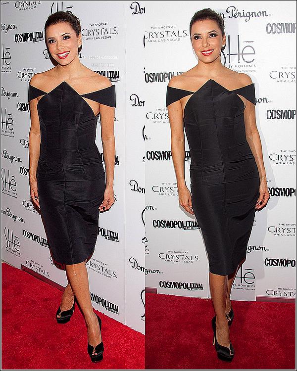 - 02/02/13 : Eva Longoria à l'ouverture de son nouveau restaurant et boite de nuit «SHE»  à Las Vegas.♥♥♥Et oui,Eva est une vraie femme d'affaire elle touche à tout , elle était magnifique,j'espere que sa va marcher,elle a tout pour elle  -