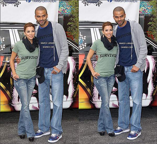 - 23/10/10 : Eva et Tony ont participés à un Rallye pour les enfants atteints du cancer à Holywood , Nostaligie (♥) . -