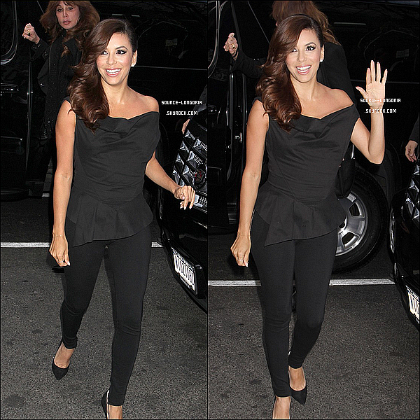 - 08/04/13: Eva longoria arrivant au  Today Show à New York , parfaite!! -