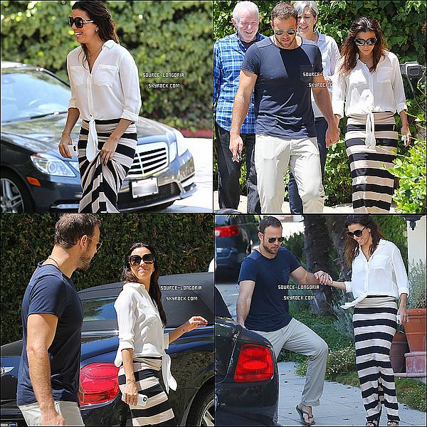 - 24/07/13 : Eva et son petit ami Ernesto sont partis visiter des maison dans  West Holywood .  -