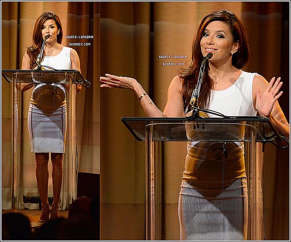 - 13/08/13 : Eva Longoria plus belle que jamais était à un déjeuner d'une association hollywoodienne à Beverly Hills -