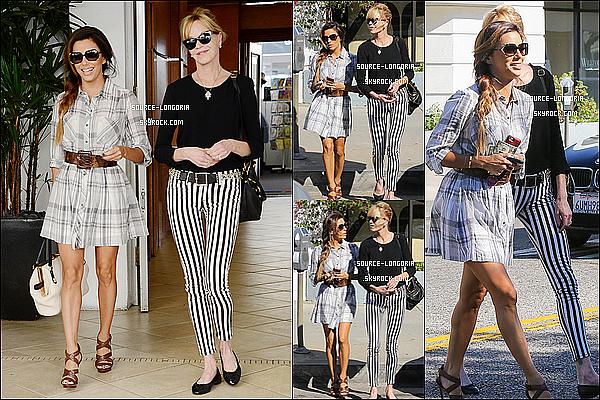 - 17/10/13: Eva et son amie sont allés faire les magasins ensuite elle a était vu sortant du coiffeur à Los Angeles. -
