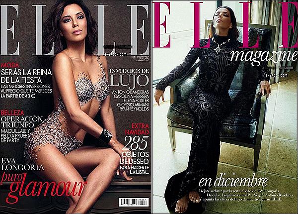 - « ELLE - SHOOT » »Découvrez les photos du shoot de Eva pour le magasine ELLE version Espagnol.  -