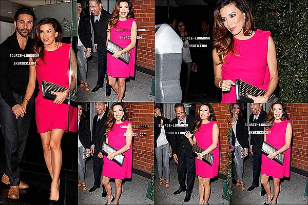 - 27/12/13: Eva et son chéri  se sont rendus au restaurant «Mr. Chow» avec des amis à L.A -