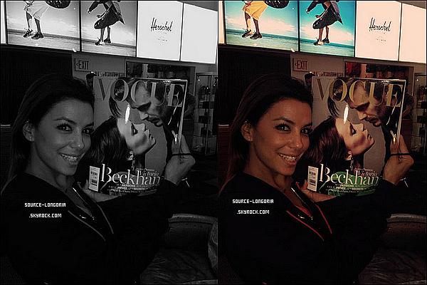 - 26/01/14: Eva longoria et son copain photographier dans la villa d'une copine d'Eva à Miami pour se reposer. -