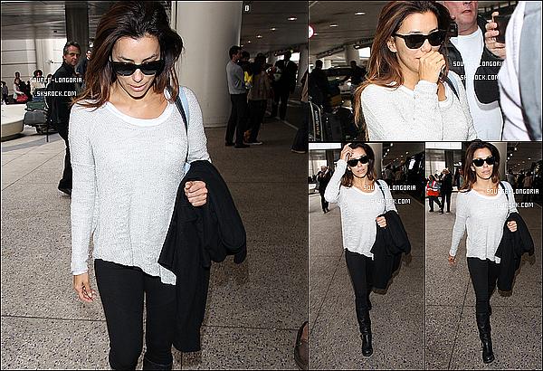 - 06/02/13 : Après son cours passage à Paris Eva a était vue à l'aéroport de Paris , puis à l'aéroport de LAX à L.A. -