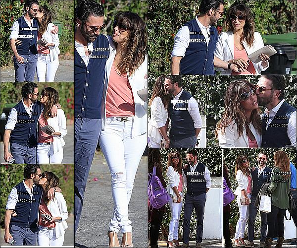 - 16/02/2014: Eva Longoria et son chéri sont allés déjeuner dans le restaurant «Shutters» avec des amis à L.A. -