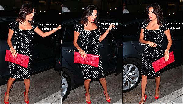 - 17/10/14 : Eva Longoria et son amoureux José Antonio se sont rendues au restaurant Mr Chow à Beverly Hills. ♥ -