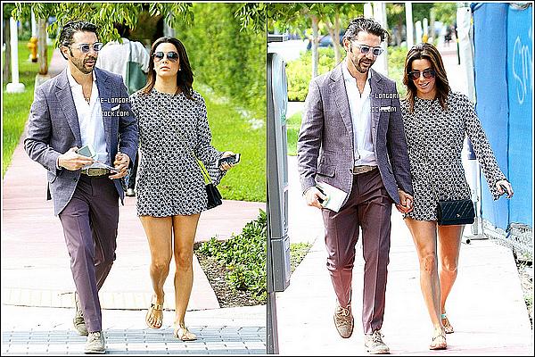 - 05/12/14 : Le couple profitant  pour se promener dans les rues de Miami . -