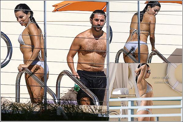 - 05/12/14: Le couple profitant de la plage et la piscine de leurs hôtel à Miami . -