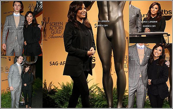 - 10/12/14 : Eva Longoria était à une soirée au Pacific Design Center à Los Angeles. -