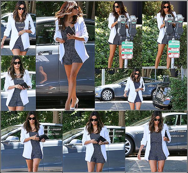 - 13/06/14: La belle Eva se rendant au salon de son  ami pour lui rendre visite à L.A -