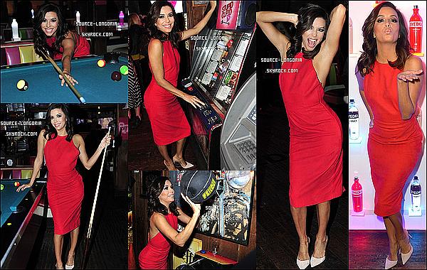 - 04/02/15: Eva s'est rendue à la soirée « SVEDKA Vodka Stupid Cupid » à Barney's Beanery» dans West Hollywood♥. -