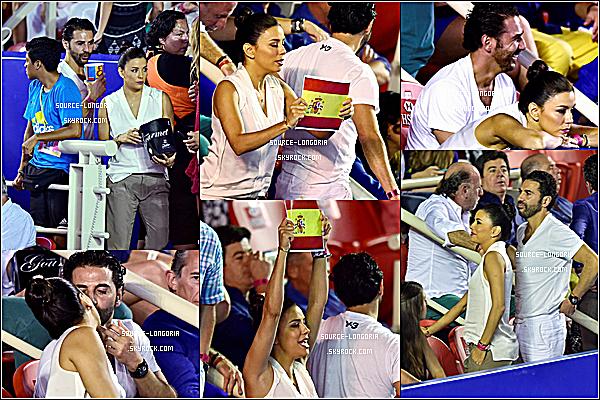 - 28/02/15: Eva et José sont allés voir un autre match de tennis à Acapulco, au Mexique , trop mignonne Eva !  -