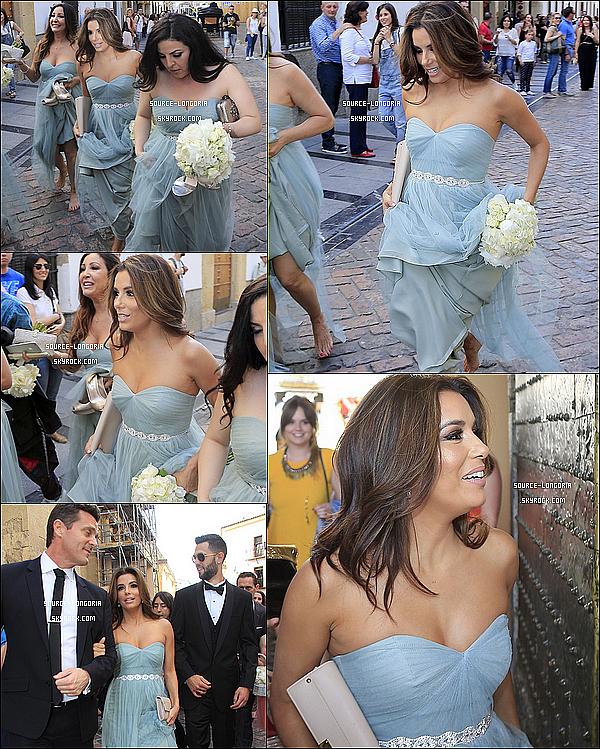 - 01/05/15: Eva  présente en tant que demoiselle d'honneur au mariage d'une de ses meilleures amie en Espagne. -