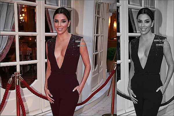 - 16/05/15: Eva Longoria était invitée à une soirée « Annual Better World Awards »  qui a eu lieu à Monaco. -